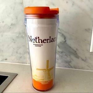 Netherlands Starbucks tumbler